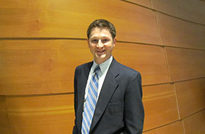 Mike Sambrook, second ear MBA student
