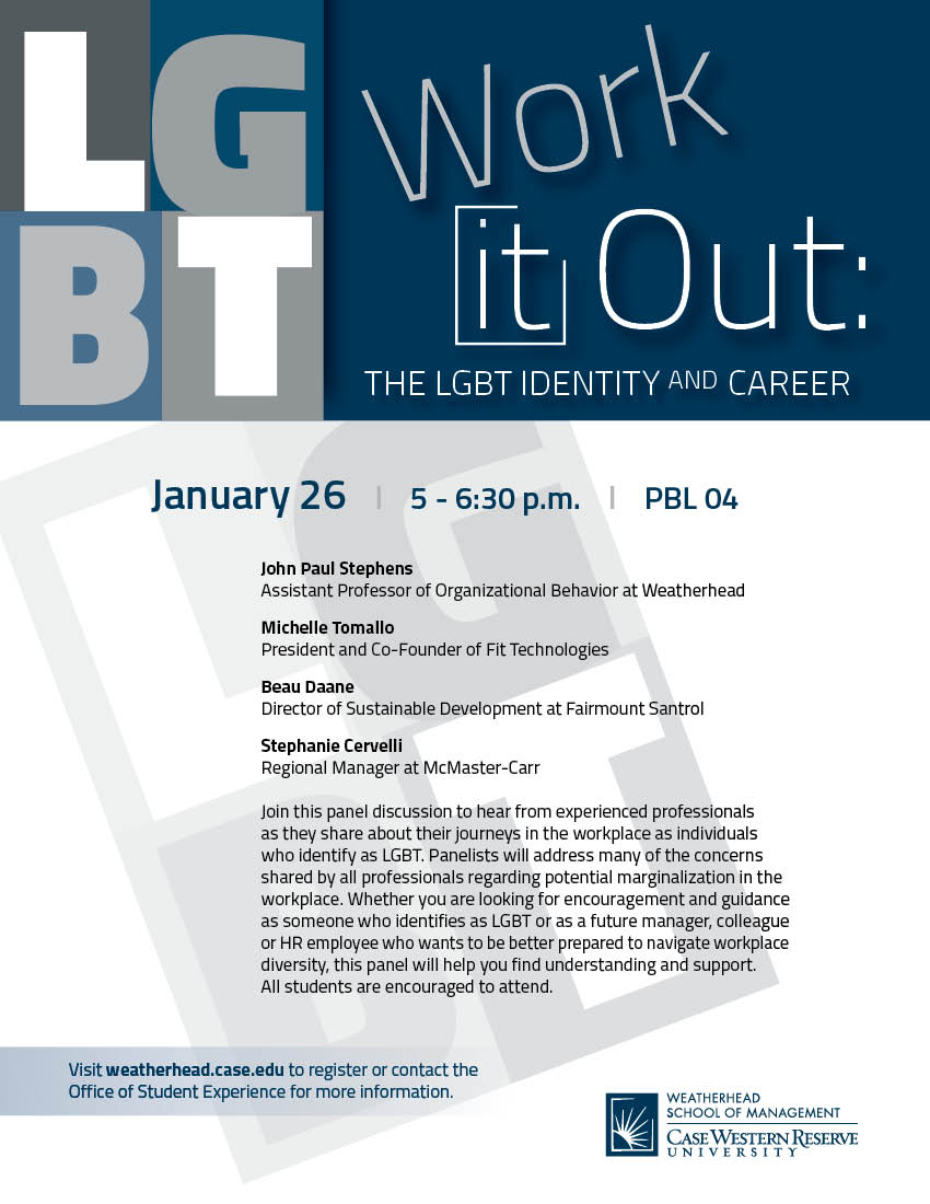 LGBT Work It Out Flyer