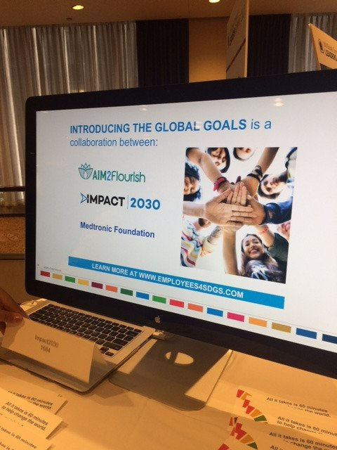 AIM2Flourish kicks off Global Goals workshops around the world