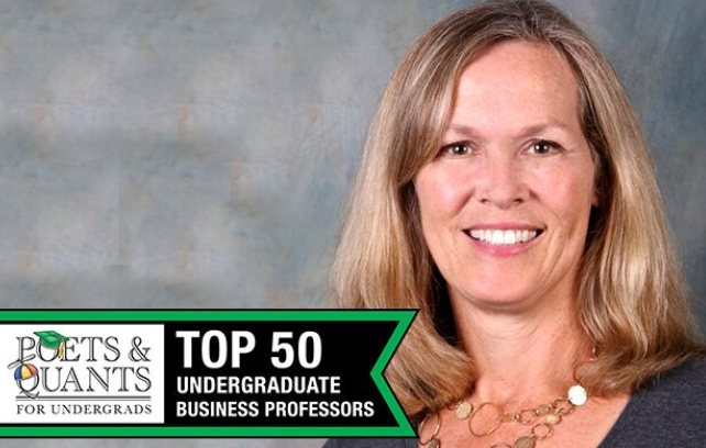 Karen Braun Named Top Undergraduate Business Professor