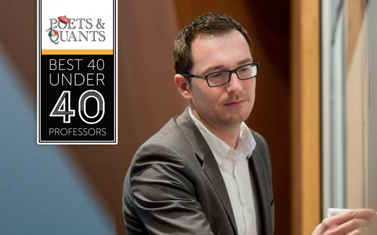 Roman Sheremeta Named 2019 Best 40 Under 40 Professor