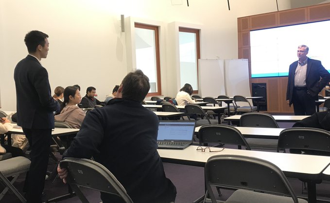 Business Analytics Program Hosts Etiquette Series for International Students