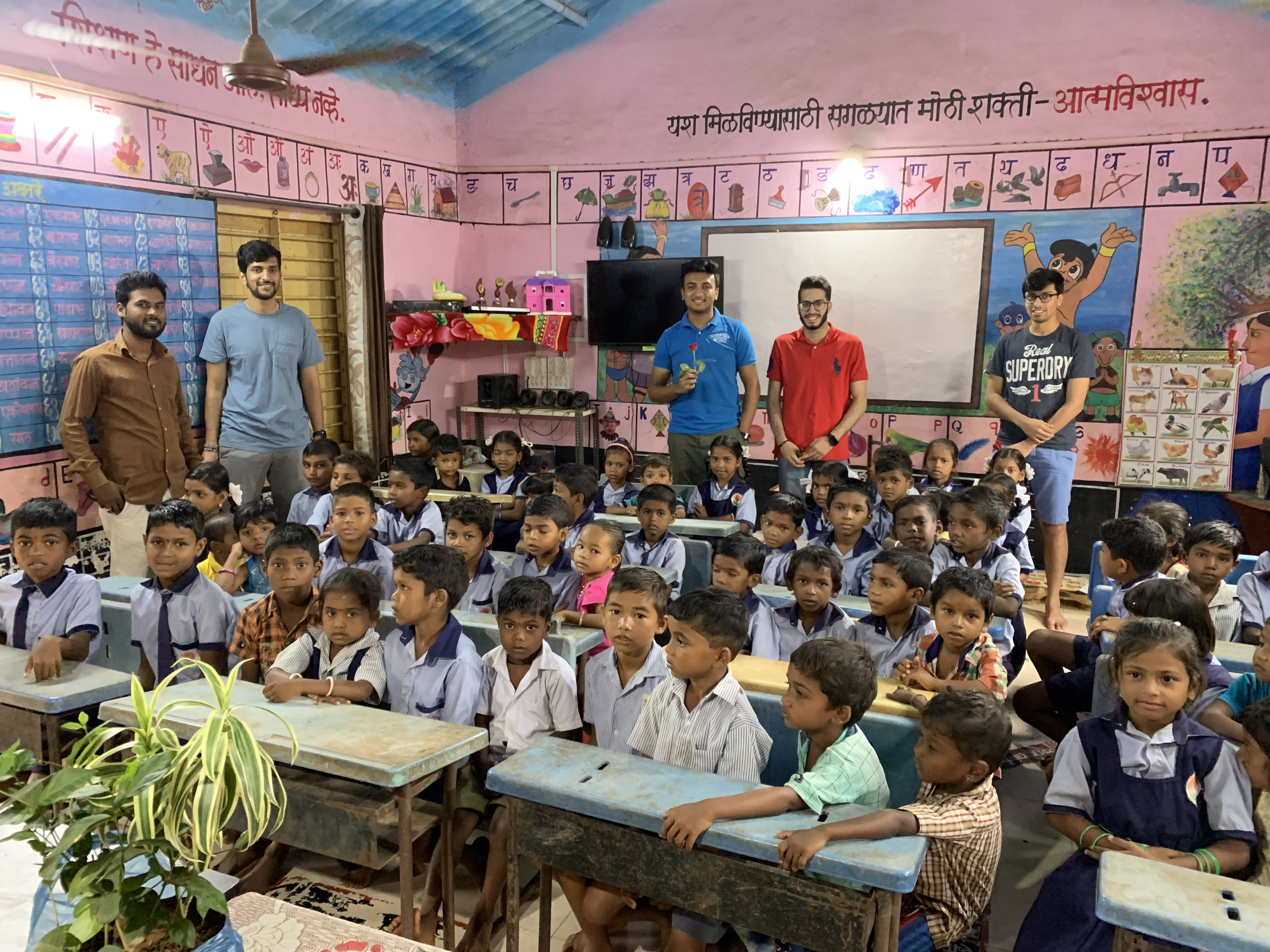 Weatherhead Undergraduates Bring Electricity and Clean Water to Schools in India